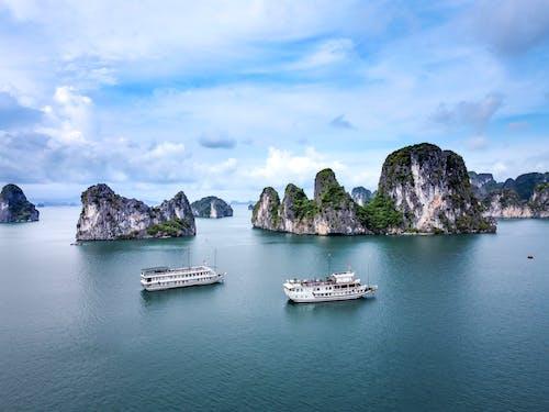 Gratis lagerfoto af båd, bugt, by, ferie