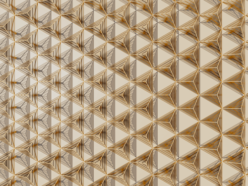 Brown and White Glass Panel