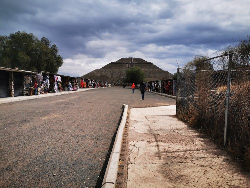 ピラミッド, メキシコの無料の写真素材
