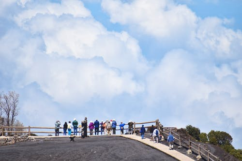 Foto stok gratis awan, gunung berapi, langit