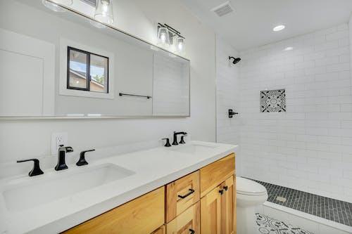 Бесплатное стоковое фото с washcloset, Ванная комната, дизайн интерьера, дом