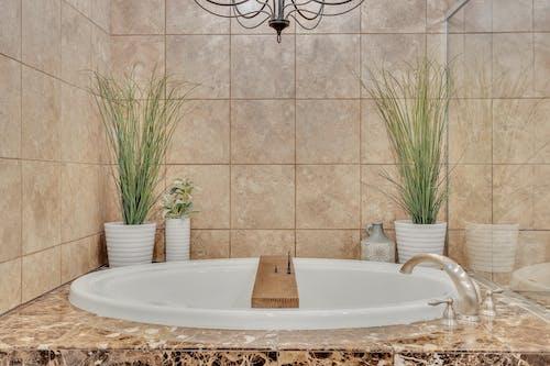 Бесплатное стоковое фото с архитектура, в помещении, Ванна, Ванная комната
