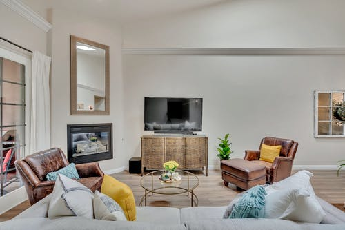 Бесплатное стоковое фото с диван, дизайн интерьера, дом, домашнее редактирование