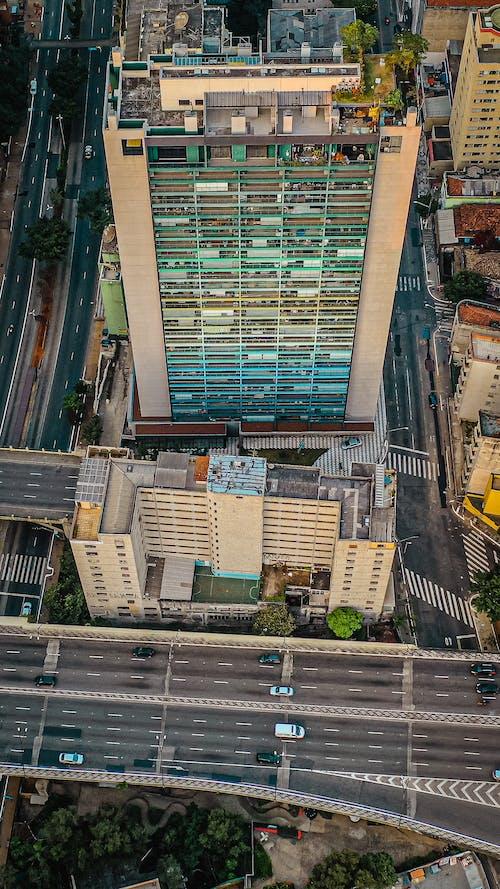 Photos gratuites de à distance, à plusieurs étages, aérien