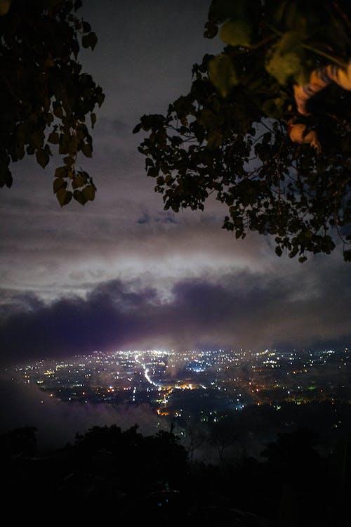 Ingyenes stockfotó alkonyat, csillagászat, éjjel táj, éjjel tájkép témában