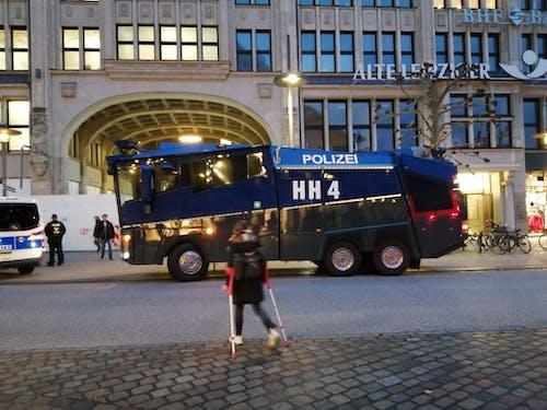 Darmowe zdjęcie z galerii z hamburg, polizei