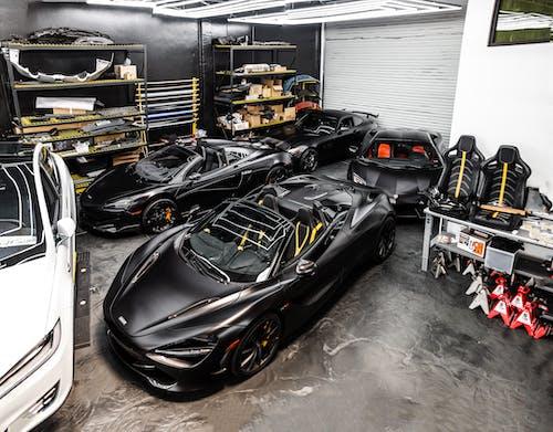 Black Ferrari 458 Italia on Garage