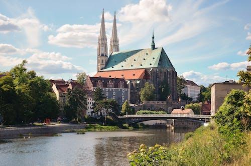 タワー, ブリッジ, 大聖堂, 川の無料の写真素材