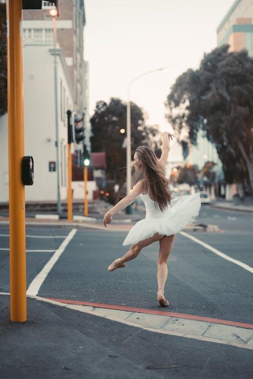 Foto profissional grátis de amável, bailarina, bailarino