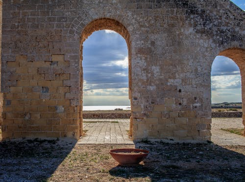 Free stock photo of arch, arches, landscape
