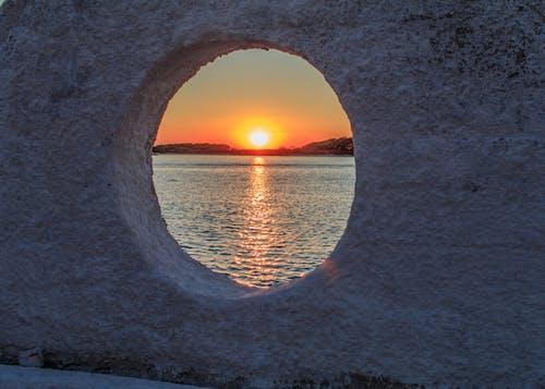 Free stock photo of gold, light reflection, sea