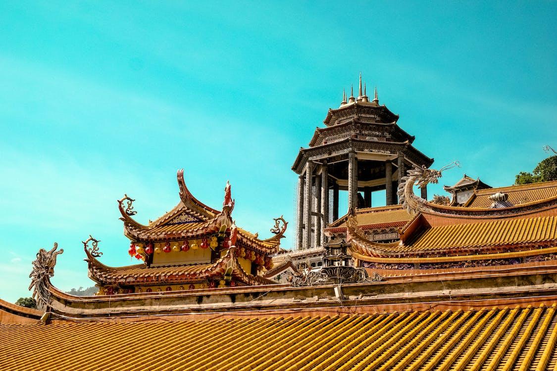 Asyalı, binalar, Çince
