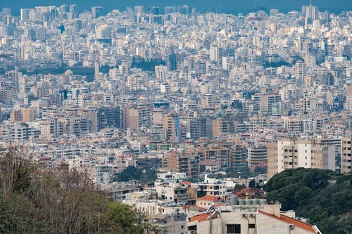 Cityscape of Beirut