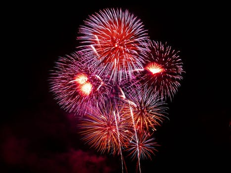 Fireworks Displays Along the Grand Strand