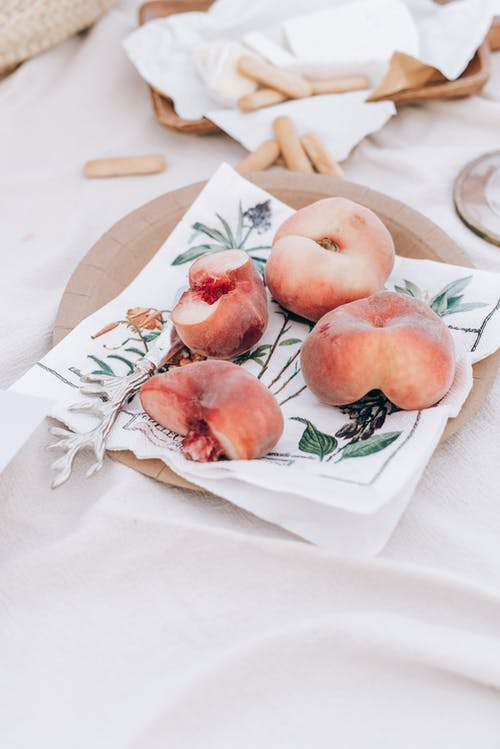 Red Apples on White Paper