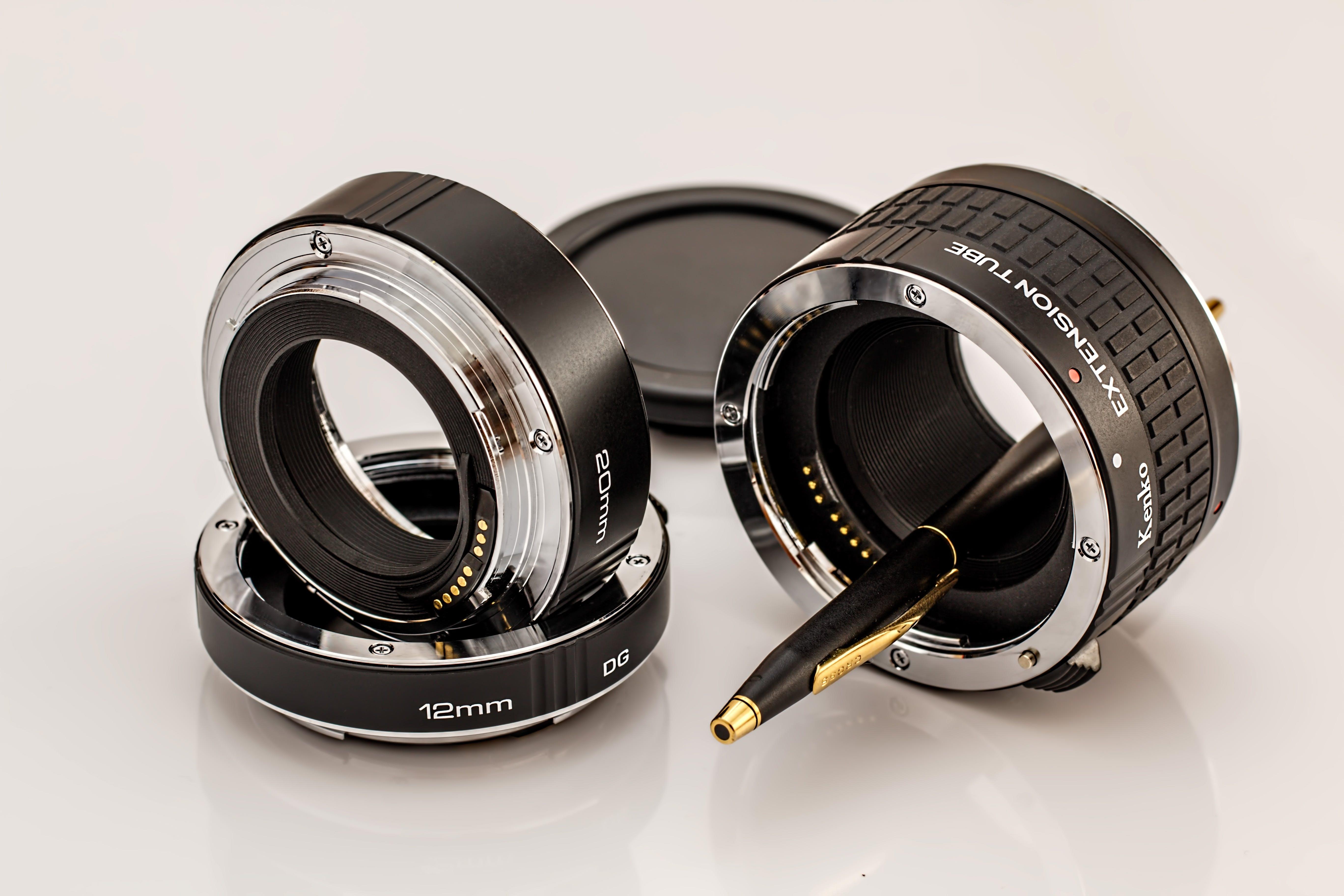 Kostenloses Stock Foto zu ausrüstung, fokus, fotoausrüstung, makro