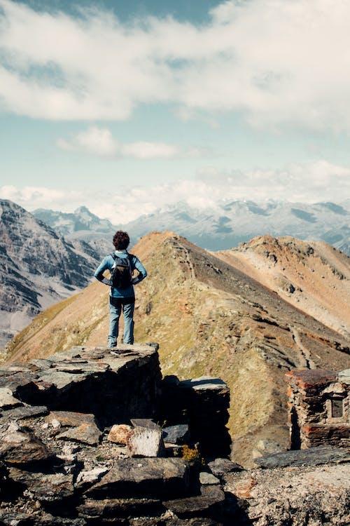 Free stock photo of trekking