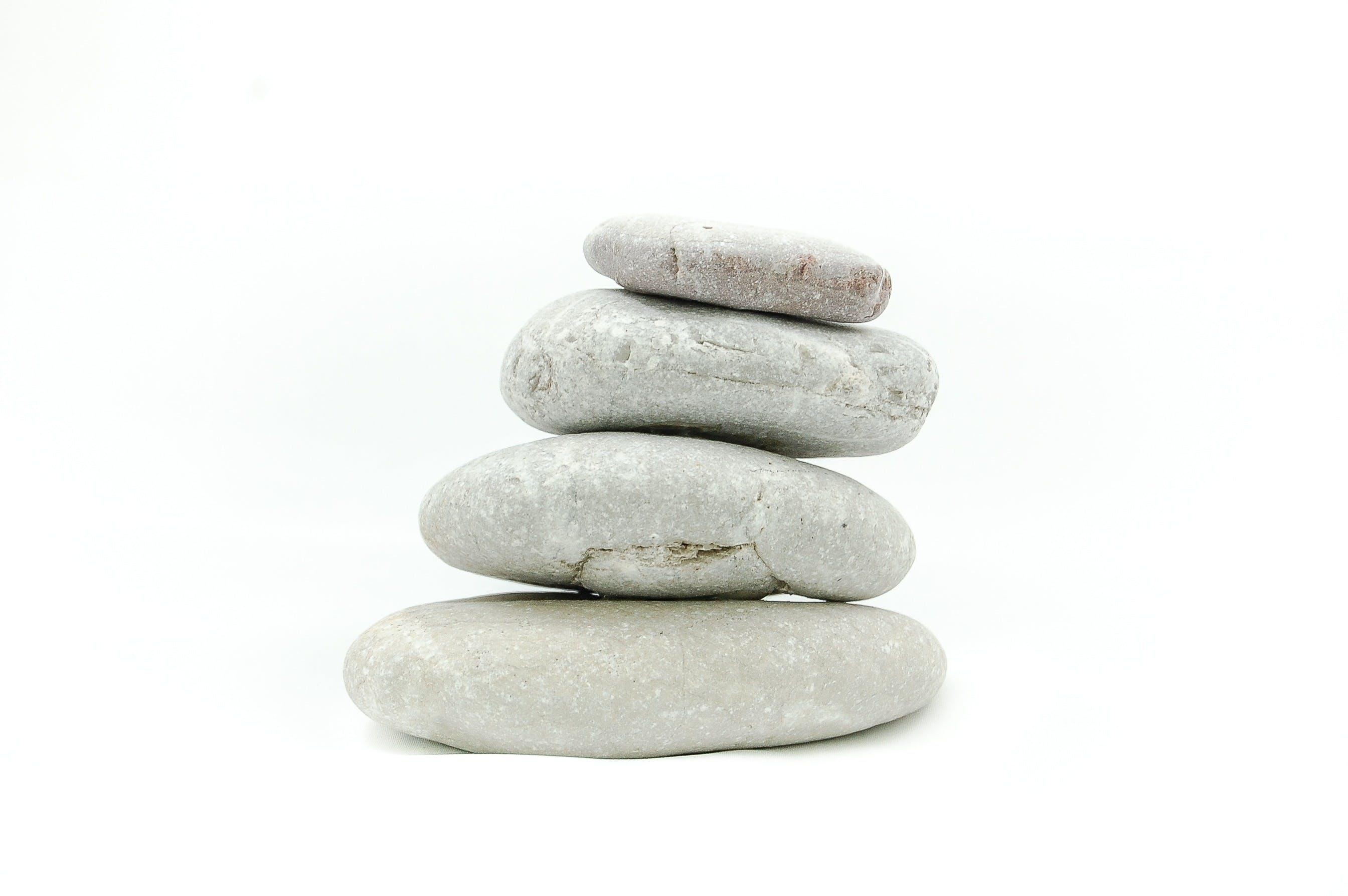 White Nesting Pebbles