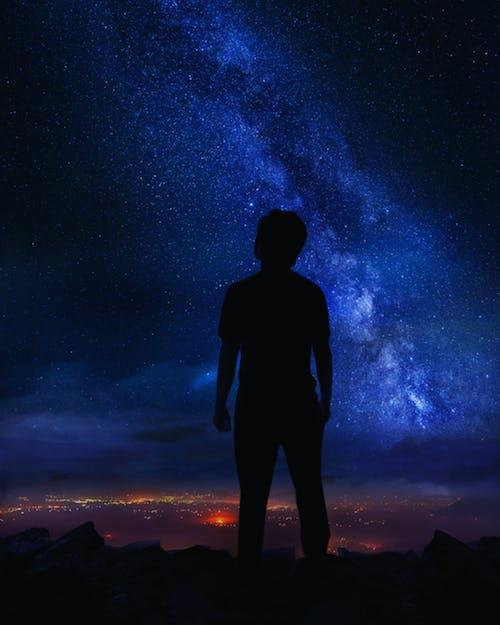 Photos gratuites de ciel, espace, étoiles à la recherche, la nuit