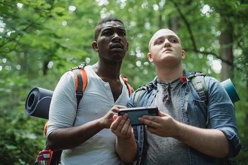 Δωρεάν στοκ φωτογραφιών με gadget, smartphone, trekking, αναζήτηση