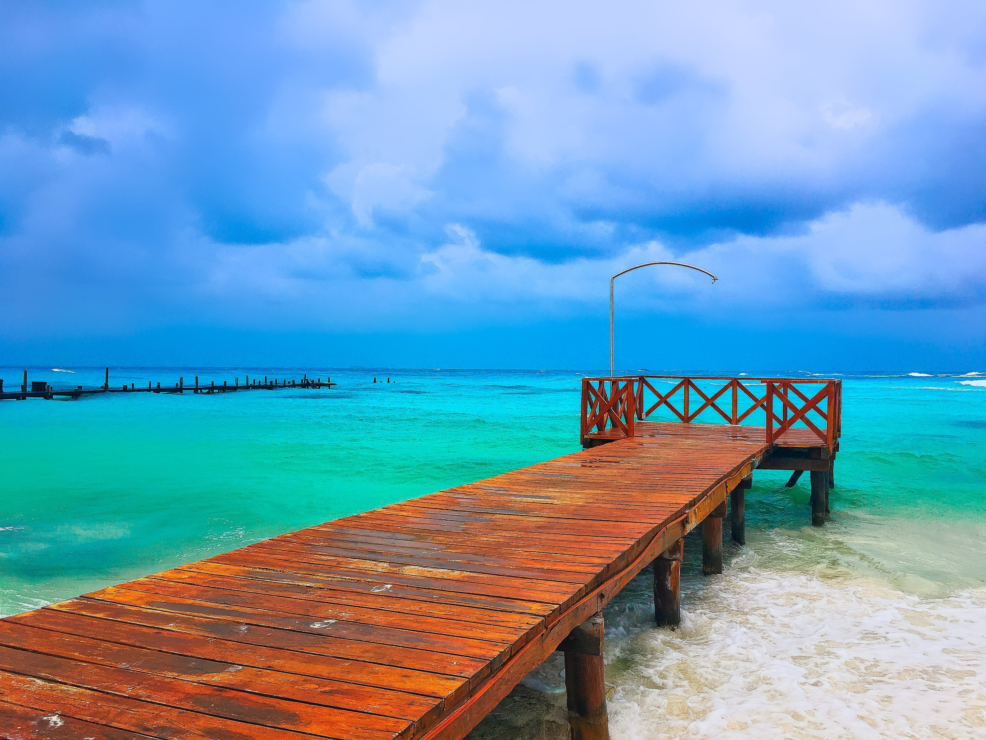 Free stock photo of cancun, clouds, colorful, free wallpaper