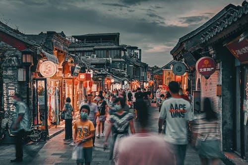 Kostenloses Stock Foto zu 北京, 城市, 夜景, 生活