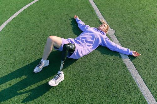 休息, 假肢, 假腿 的 免費圖庫相片