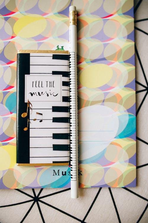 White and Black Piano Book