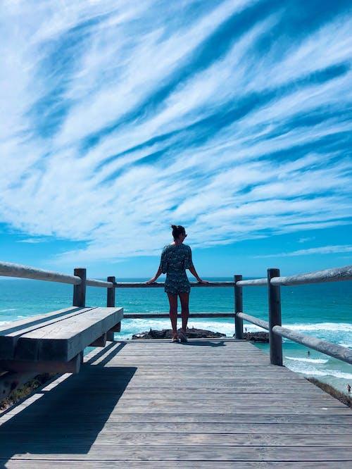 Imagine de stoc gratuită din cer albastru, concediu, pace, paradis