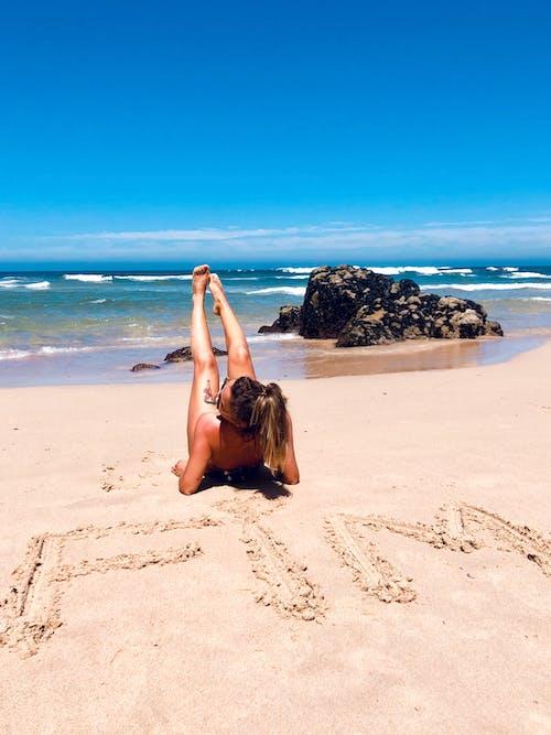 Imagine de stoc gratuită din concediu, faleză, fim, plajă