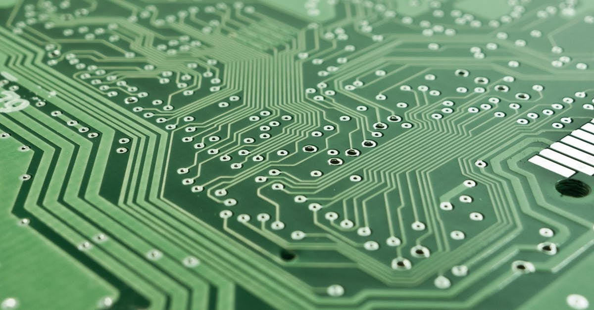 Technology Management Image: Green Motherboard · Free Stock Photo