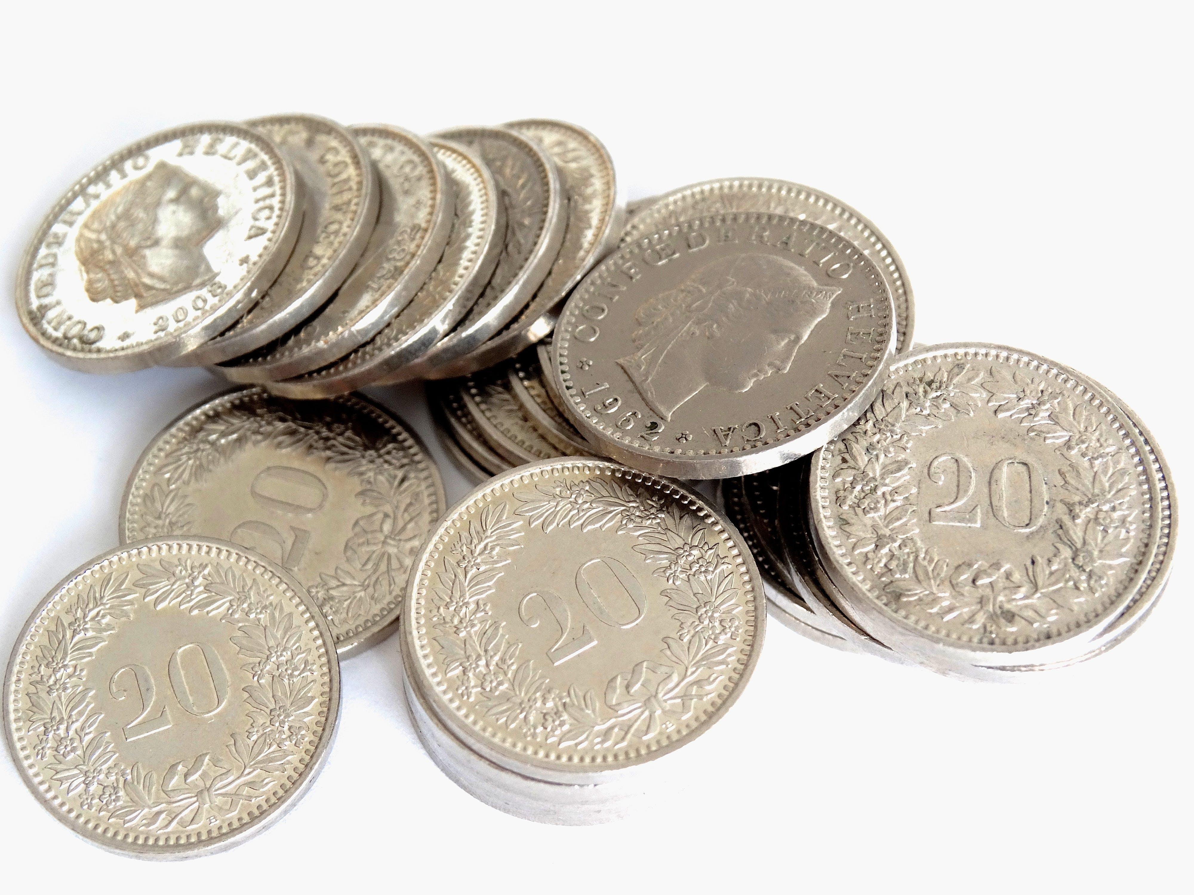 Silver 20 Round Coin