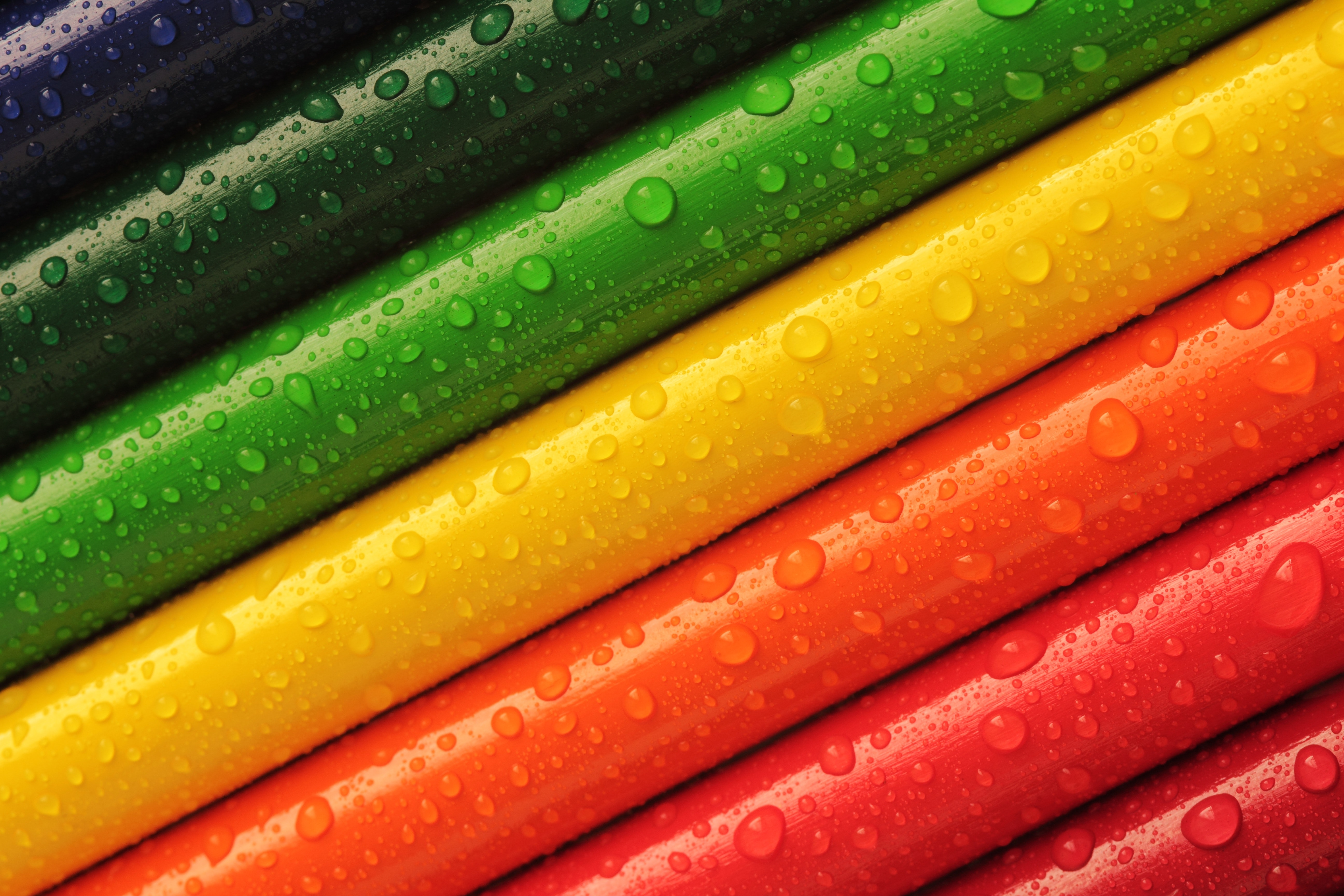 Color Red Blue Green Pink Orange And Yellow