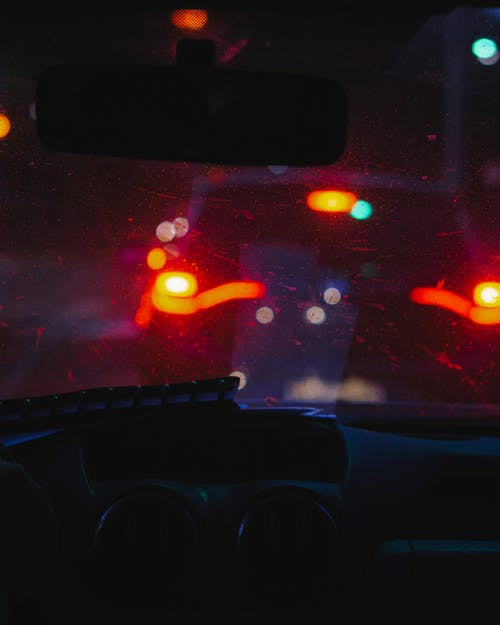 คลังภาพถ่ายฟรี ของ แสงไฟของเมือง