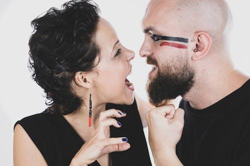 Kostenloses Stock Foto zu bart, beziehung, ehe, ehefrau