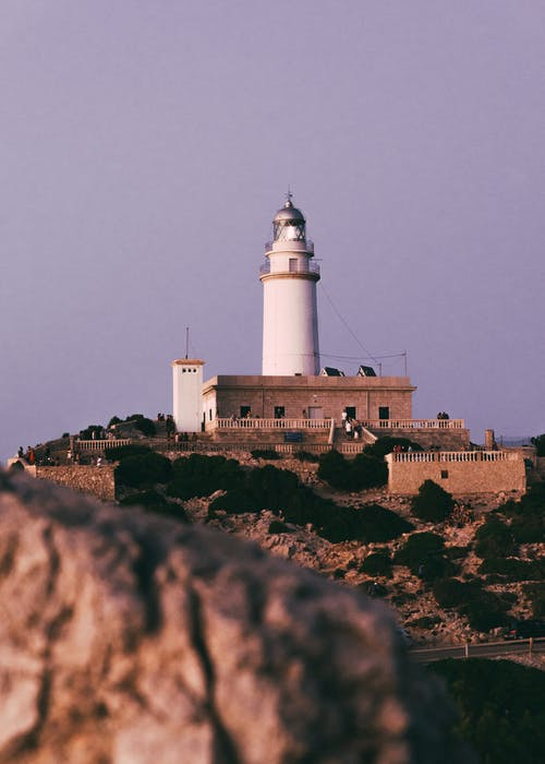 View of Lighthouse in Spain