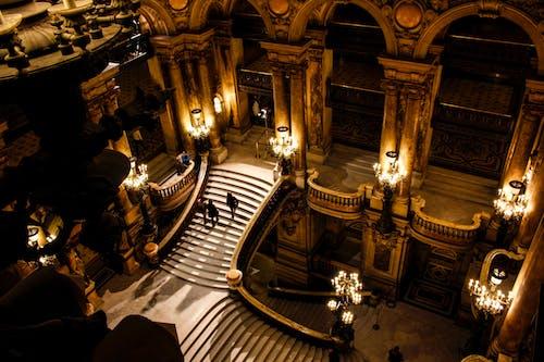 Бесплатное стоковое фото с palais garnier, архитектура, в помещении