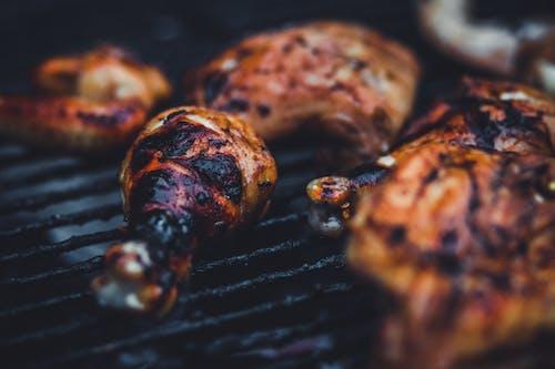 Free stock photo of barbecue chicken, barbecue grill, chicken