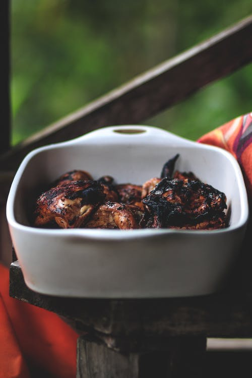 Free stock photo of barbecue, barbecue chicken, camping