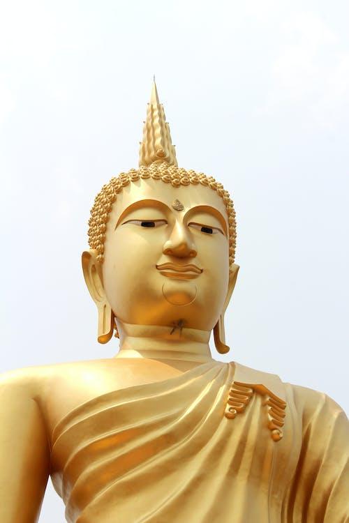 Ingyenes stockfotó Buddha, buddhizmus, díszes, ég témában