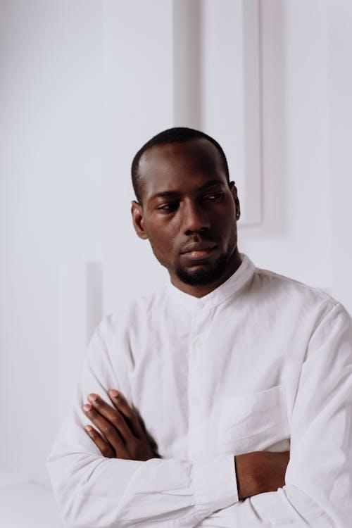 Foto stok gratis Amerika Afrika, bagus dilihat, baju putih