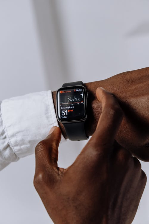 Fotos de stock gratuitas de afroamericano, aplicación, Apple Watch