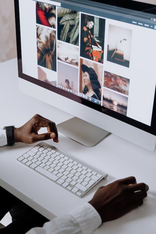 Immagine gratuita di afro-americano, computer, display