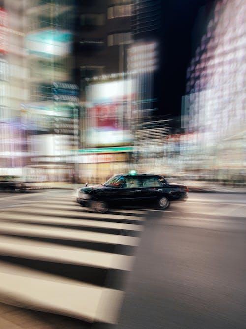 Ingyenes stockfotó aszfalt, autó, autózás, belváros témában
