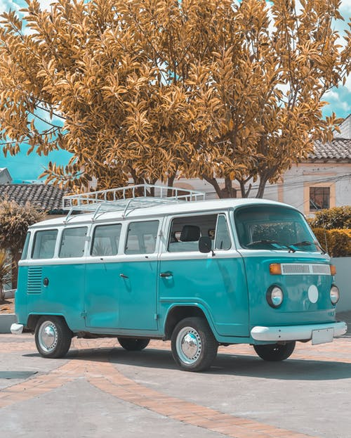 Ingyenes stockfotó autó, auto clásico, busz témában