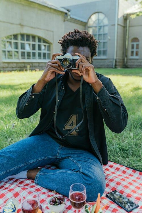 Foto stok gratis alat, Amerika Afrika, fotografer