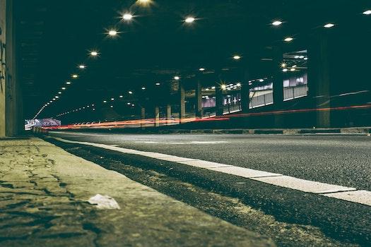 Free stock photo of light, traffic, street, tunnel