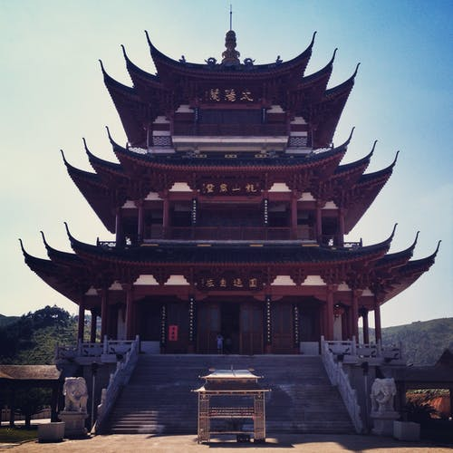 Free stock photo of chinese temple