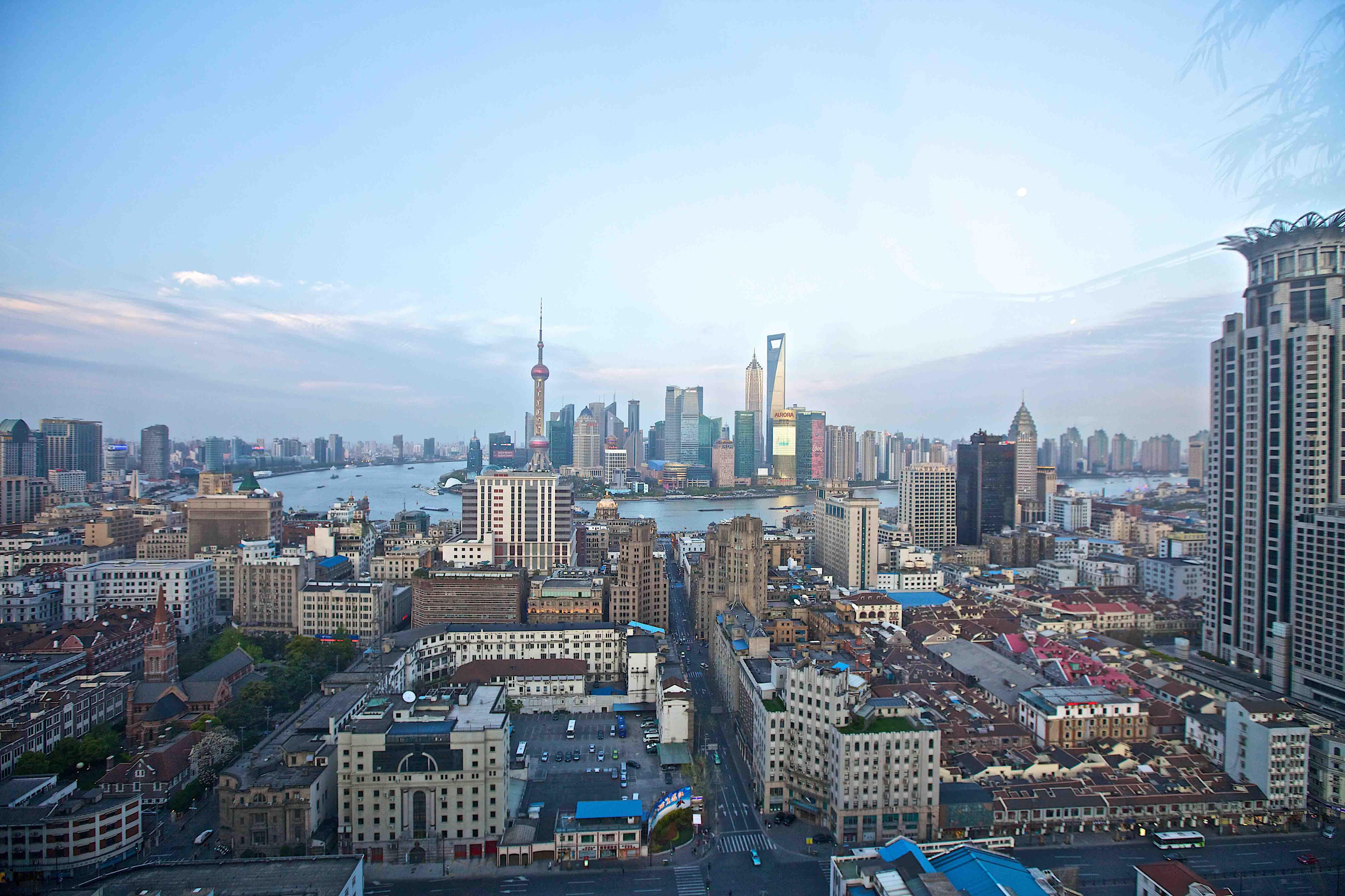 buildings, china, city