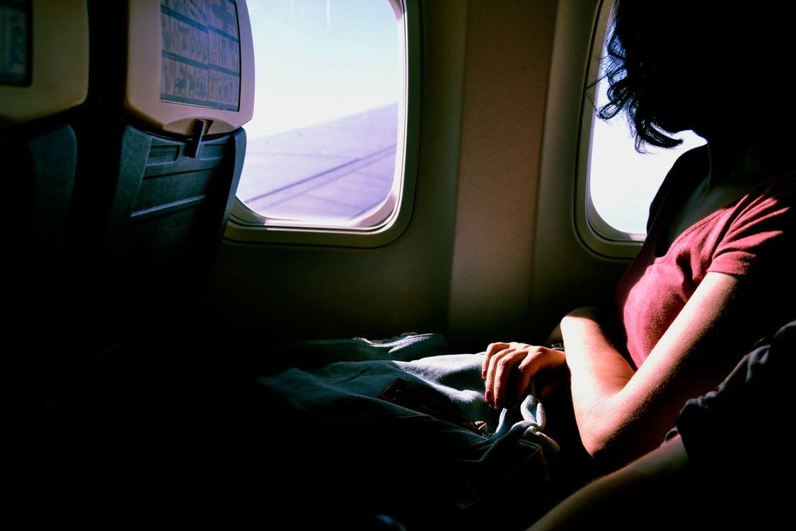airplane, anticipation, business travel